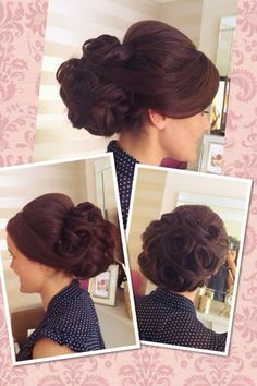 Vintage up do... Wedding hair