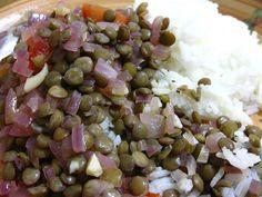 Peruvian-style lentils lentejas