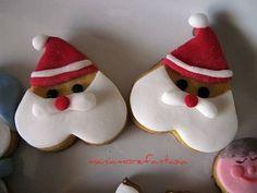 I miei primissimi (ma si può dire?) biscotti natalizi decorati!!!