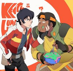 Keith and Hunk
