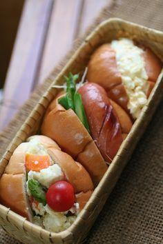 Sandwich Box Lunch ロールパンサンドイッチ弁当