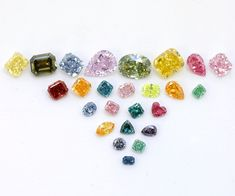 Diamond Color | ... & Co.s fancy colored diamonds used for the World of Color guide
