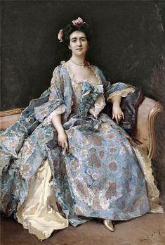 Portrait of a Lady, Raimundo de Madrazo y Garreta (1841 – 1920)