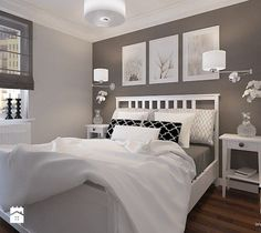 Wohnung Small guest bedroom decor ideas - pin für alles The Importance Of Themes In Living Room Deco Guest Room Decor, Room Wall Decor, Bedroom Decor, Bedroom Ideas, Girls Bedroom, Master Bedroom, Ikea Bedroom, Couple Bedroom, Bedroom Storage