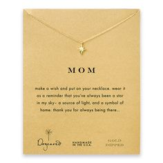 Gold Mom North Star Necklace by Dogeared - SET & STYLE #mothersdaygift