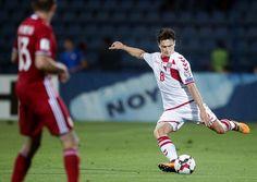 Thomas Delaney (th): »Det er kæmpestort. Jeg er lidt overrasket her bagefter over, at vi har spillet på udebane mod Armenien, og jeg har scoret tre mål. Det er jeg meget stolt af. Rigtig stolt.«