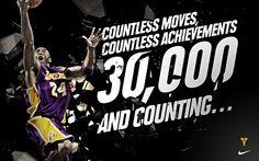 Kobe Bryant Breaks 30,000 Point Barrier