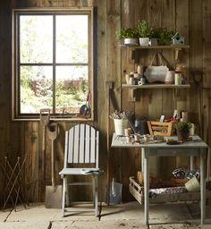 10 garden shed storage ideas Shed Storage Solutions, Clutter Solutions, Storage Ideas, Shed Shelving, Storage Shelves, Narrow Shelves, Wooden Shelves, Period Living, Outdoor Storage Sheds