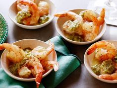 Get Cumin-Roasted Shrimp with Green Chile Cocktail Sauce Recipe from Food Network
