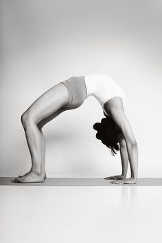 yoga inspiration; Urdhva Dhanurasana (Upward Bow)