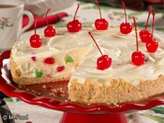 White Chocolate Mousse Cake - A festive treat for Christmas!