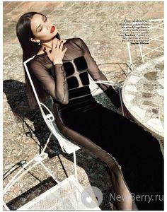 Shanina Shaik для журнала Vogue India