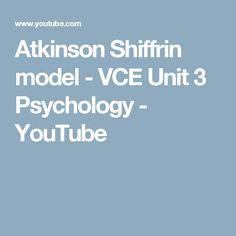 Hogyan történik az információfeldolgozás Atkinson és Schiffrin modellje szerint? Milyen emlékezeti tárakat különböztetnek meg és ezekben milyen folyamatok működnek?