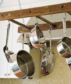 Ladder Pot Rack--