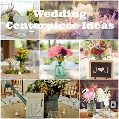 Ideas for beautiful wedding centerpieces