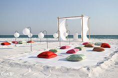 Ceremonia bodil en la playa http://conbdeboda.blogspot.com.es/2013/06/bodas-en-la-playa.html