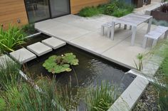Modern garden ladnscape design  #Decoration  #Architecture #Modern  #Founterior