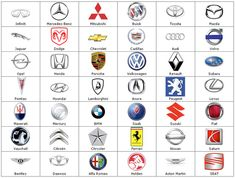 Symbols | BIKES AND CARS: POPULAR CAR SYMBOLS