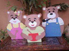 Theme: goldilocks & 3 bears