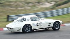 2012 Zandvoort Historic GP: Chevrolet Corvette Grand Sport