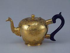 tea pot with monogram of empress elizaveta petrovna 1750