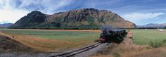 The Kingston Flyer: A vintage steam train journey with a backdrop of real vintage scenery.