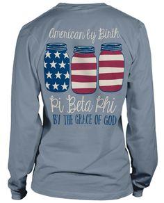 Pi Phi Long Sleeve T-shirt.  Too Cute.