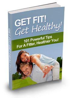 'Get Fit, Get Healthy '   Ebook-----CD