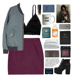 """""""beautiful people surround me."""" by annamari-a ❤ liked on Polyvore featuring Proenza Schouler, Monki, NARS Cosmetics, Korres, Frette, Davines, Fjällräven, Tanner Goods, TalisLittleTag and lookingforadventures"""