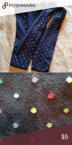 OLD NAVY POLKA DOT TIGHTS Thicker material for colder weather. Accessories Socks & Tights
