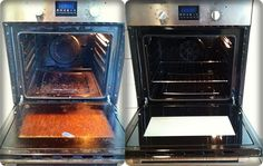 Those who Hate Cleaning their Oven Will Love this Trick (Video) - Fine Living Advice Baking Soda Water, Oven Cleaning, Christmas Baking, Clean House, Home Remedies, Healthy Life, Kitchen Appliances, Cleaning Products, Simple