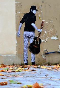 Street art mural paris new ideas 3d Street Art, Street Art News, Urban Street Art, Murals Street Art, Amazing Street Art, Street Art Graffiti, Mural Art, Street Artists, Music Graffiti