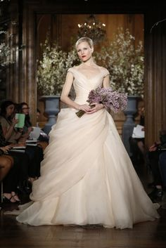Anne hathaway wedding dress celebrity weddings pinterest anne romona keveza evening and bridal gowns spring 2014 collection junglespirit Gallery