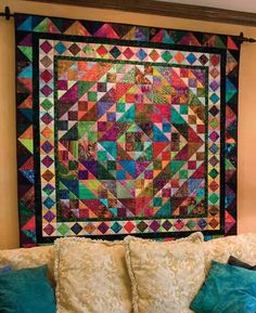 Color fun with batiks
