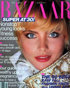 Kim Alexis covers Harpers Bazaar Magazine (US)