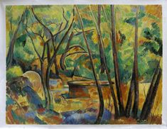 Paul Cezanne Grindstone and Cistern in a Grove art painting for sale; Shop your favorite Paul Cezanne Grindstone and Cistern in a Grove painting on canvas or frame at discount price. Paul Cezanne Paintings, Cezanne Art, Oil On Canvas, Canvas Art, Most Famous Paintings, Aix En Provence, Paul Gauguin, Oil Painting Reproductions, French Artists