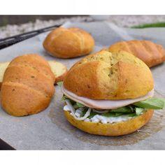 Paleo, Salmon Burgers, Bread, Croissant, Ethnic Recipes, Brot, Beach Wrap, Crescent Roll, Baking
