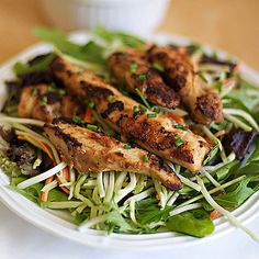 Asian-Style Chicken Strips Recipe: Light, Quick & Simple Lunch, Dinner — Family Fresh Cooking
