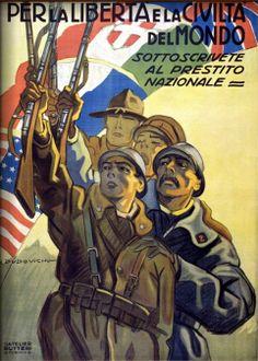 Dudovich - poster Prestito Nazionale