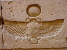 (Crystalinks, 2013) The Scarab Beetle has symbolic nature in ancient egypt where it symbolises self-creation or rebirth. It appears in many painting on buildings and carvings. They are depicted often with a sun disk over their heads.