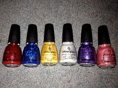China Glaze Wizard of Ooh Ahz Collection