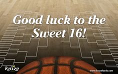 Kraze Foods would like to wish all NCAA Sweet 16 teams good luck! We want to know: how are your brackets? Do you still have a chance? ‪#‎marchmadness‬ ‪#‎sweet16‬ ‪#‎Krazefoods‬