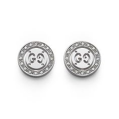 ee54076fd382 Gucci Icon Twirl 18ct White Gold Diamond Earrings - now available at Keswick  Jewelers in Arlington Heights, IL 60005 www.keswickjewelers.com