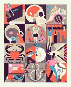 Wunderkammer - Owen Davey Illustration