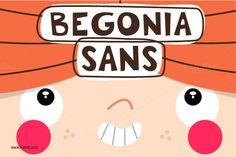 Begonia Sans Font