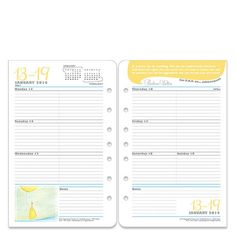 Her Point Of View Weekly Pages - Franklin Covey #dreamplanner @FranklinPlanner