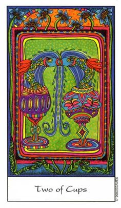 Tarot of the Trance ► Two of Cups