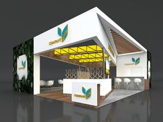 Exhibition Booth Design, 3d Projects, Outdoor Decor, Building, Home Decor, Decoration Home, Room Decor, Buildings, Exhibition Stand Design