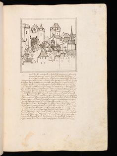 Aarau, Aargauer Kantonsbibliothek, ZF 18, f. 155r – Werner Schodoler, Eidgenössische Chronik, Vol. 3