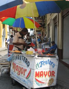 Streets market at Cartagena